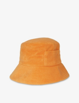LACK OF COLOR Wave cotton-terry bucket hat